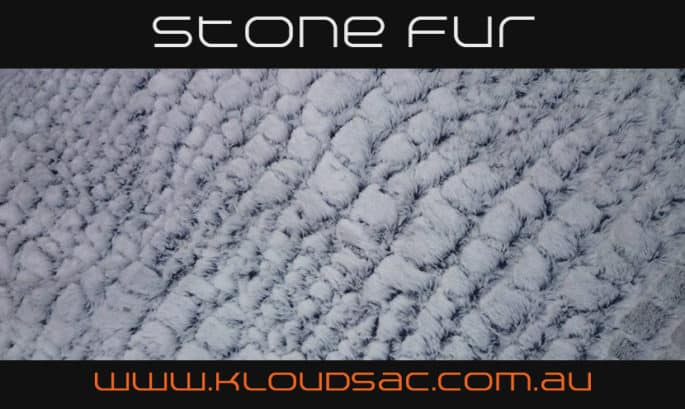 buy stone fur bean bag covers