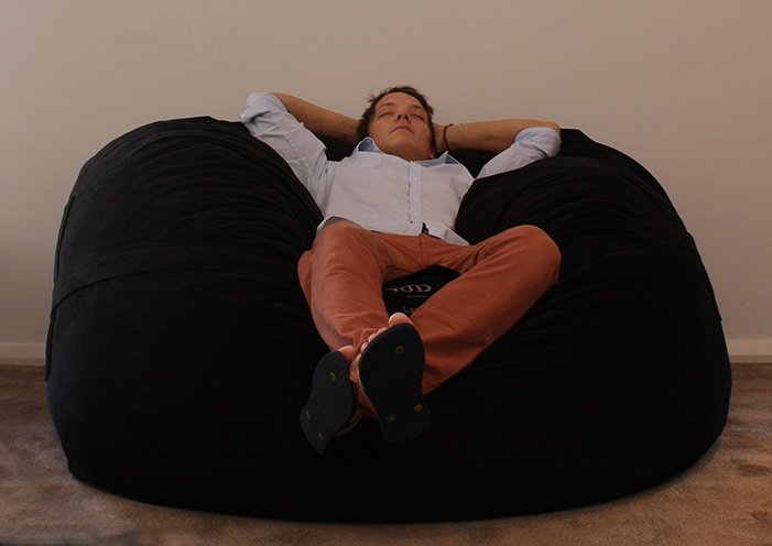 Black Mondo Bean Bag