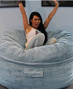 urban foam filled bean bag