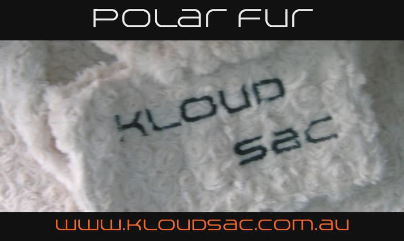 polar fur bean bag covers