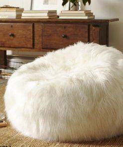 Straight Fur Bean Bag
