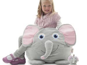 elle elephant kids bean bag