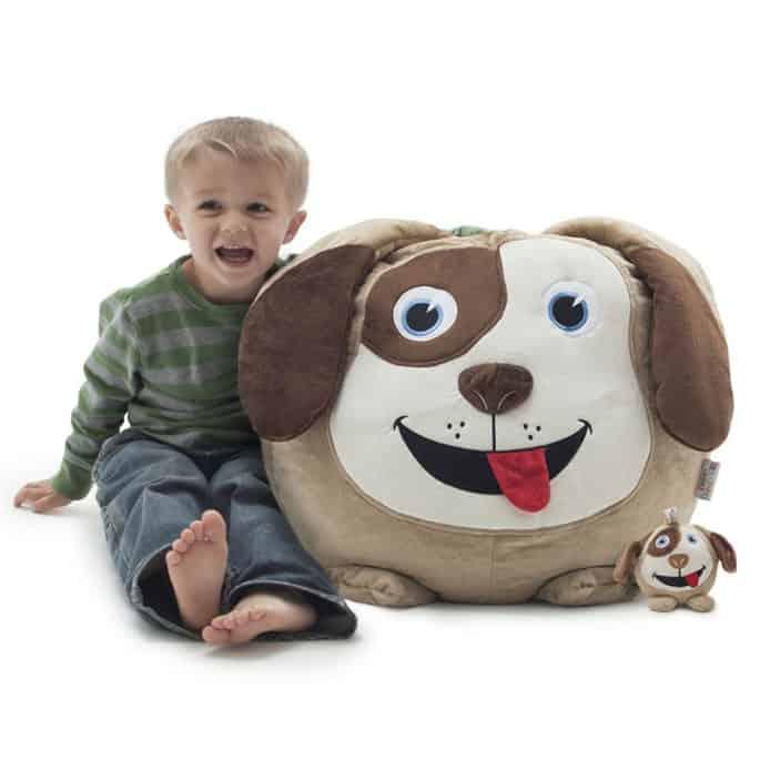 happy dog kids bean bags