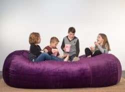 Kids on a Lounge Sac