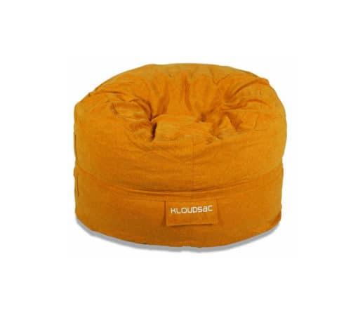 orange linen kloudsac