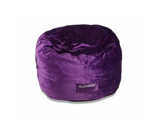 purple velvet kloudsac