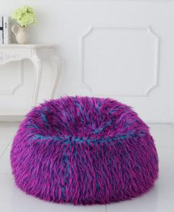 multicolour shaggy fur 120cm1