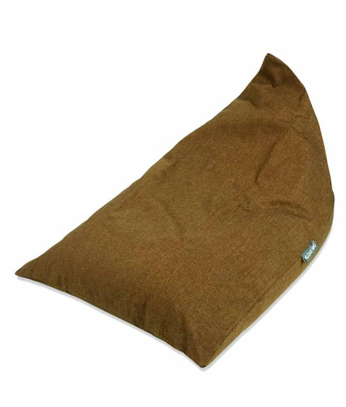 Brown Triangle Bean Bag