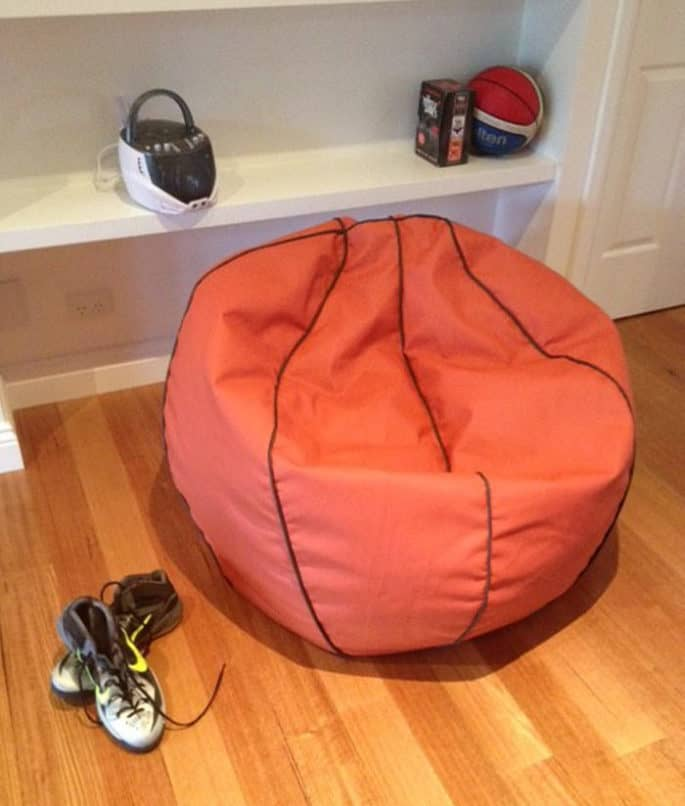 Kids Basketball Bean Bag