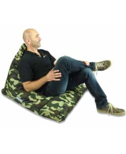 Triangle Bean Bag available in Camo