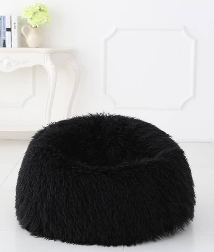 Surprising Fur Bean Bag Wolfgang Puck Pressure Oven Ocoug Best Dining Table And Chair Ideas Images Ocougorg