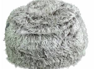 Deluxe Faux Fur Bean Bag Brown