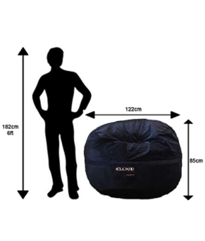 120cm Bean Bag Dimensions