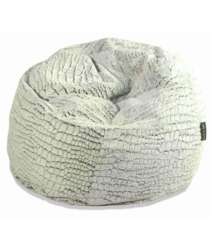 Stone Fur Bean Bag Extra Large Kloudsac