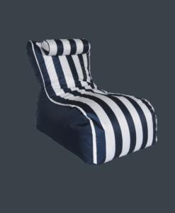 outdoor beanbag chair blue