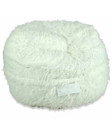 White Shaggy Fur