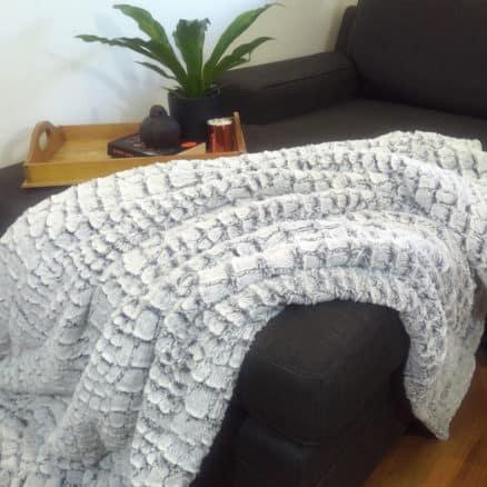 Stone Fur Blanket