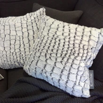 Two stone cushions