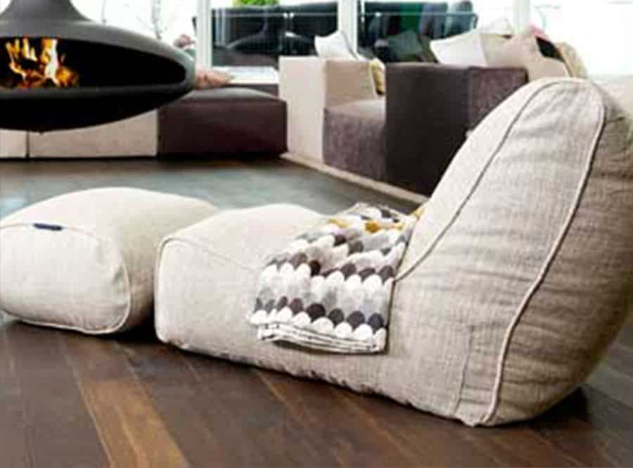 Chaise bean bag