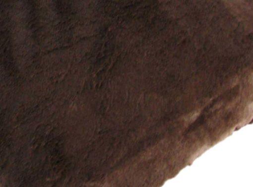 Divine brown faux fur