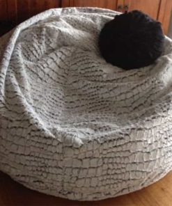 Stone Fur Bean Bag