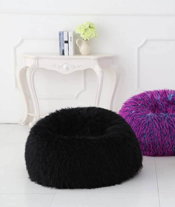 Deluxe Multi-Colour Faux Fur Bean Bag ( Extra Large) - Kloudsac 4ced89bdb2