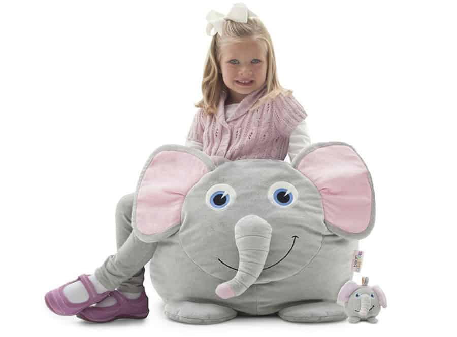 Elle The Elephant Kids Bean Bags Childrens Bean Bags