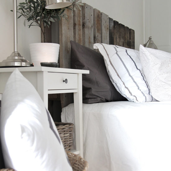 pallet bed headboard diy